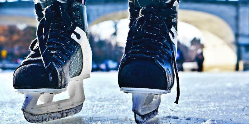Skridskor på isen