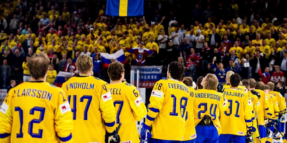 Tre Kronor Hockey VM 2018