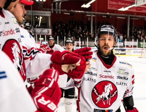 Gastkramande näst sista omgång väntar i kvalet till HockeyAllsvenskan