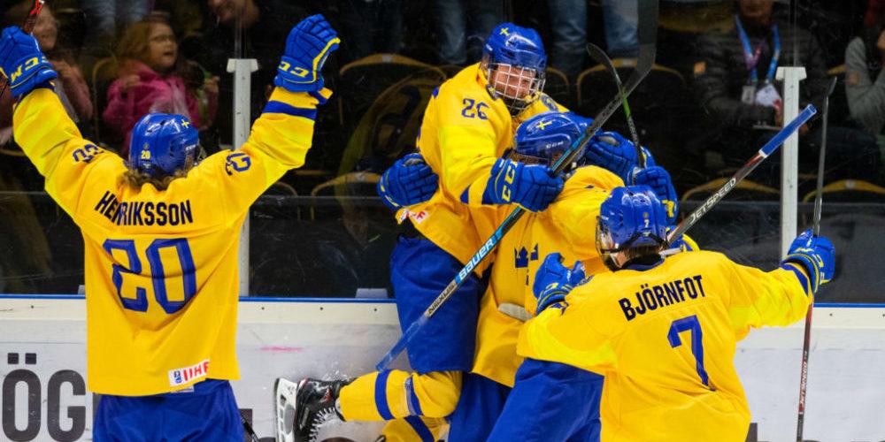 Svenska småkronorna vid U18 VM 2019