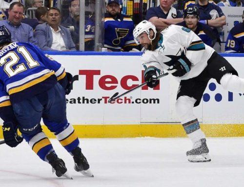 Kontroversiellt mål av Erik Karlsson när Sharks vann på övertid
