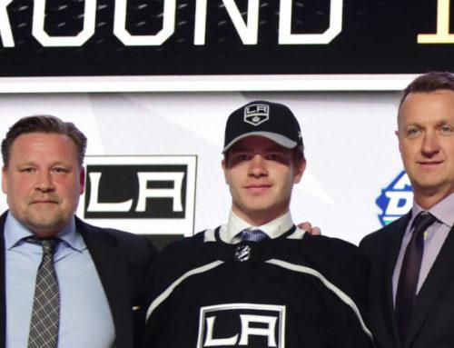 Efter succén – nu skriver Björnfot NHL-kontrakt med Kings