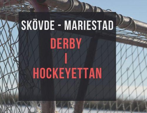 Att vara bäst i Skaraborg – En match i hockyettan utöver det vanliga
