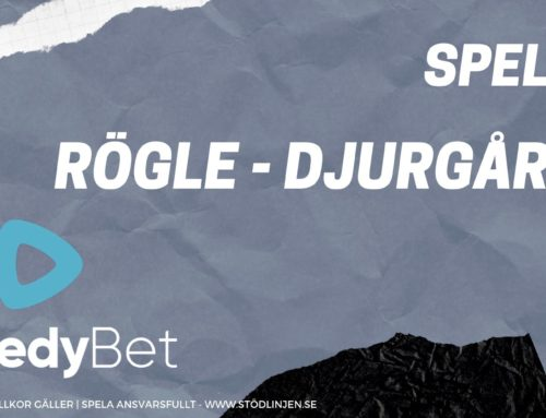 SPELTIPS 10/10: Rögle – Djurgården