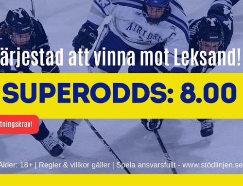 SUPERODDS: 10/10: Färjestad mot Leksand