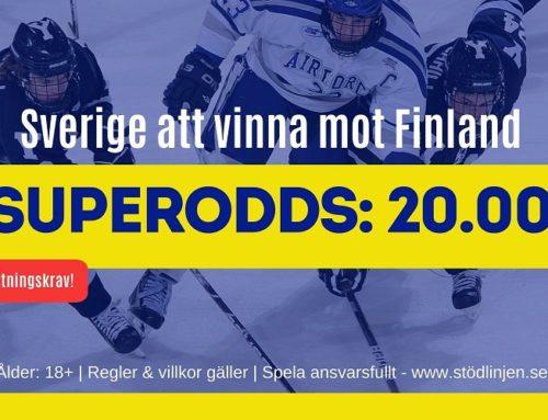 SUPERODDS: 10/11: Sverige vs Finland