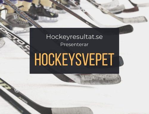 Hockeysvepet – Vad har hänt under helgen i svensk hockey?