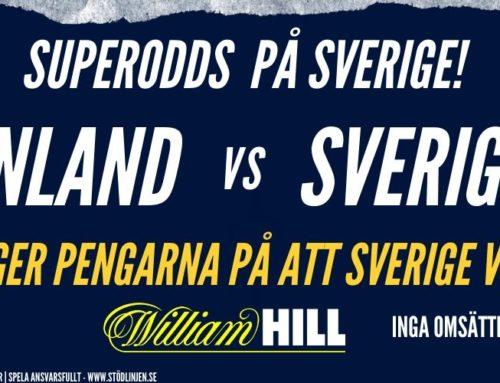 SUPERODDS: 14/12 – Finland – Sverige
