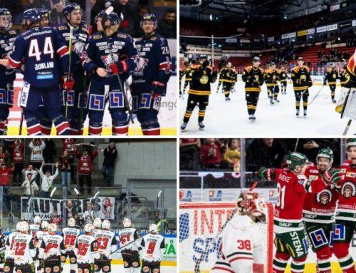 Hockeysvepet: Det börjar dra ihop sig inför slutet av SHL