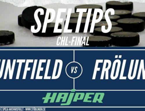 Speltips 4/2 | CHL-Final | Mountfield – Frölunda