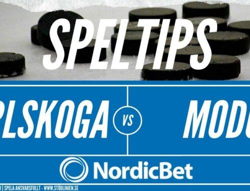 SPELTIPS 6/3 | BIK Karlskoga – Modo