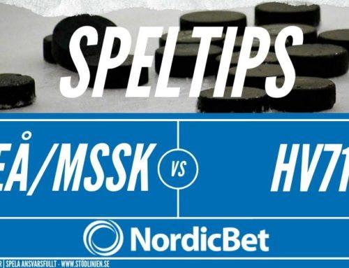 SPELTIPS 11/3 | SDHL | Luleå/MSSK – HV71