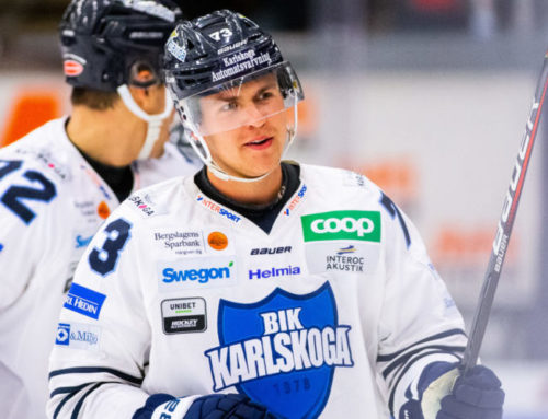 Oliver Eklind lämnar hockeyallsvenskan och Karlskoga för spel i SHL