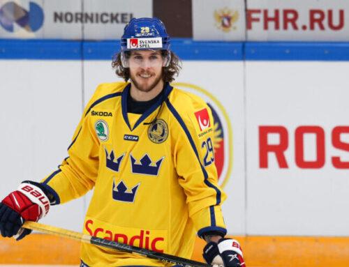 Mario Kempe är skadad – missar Beijer Hockey Games