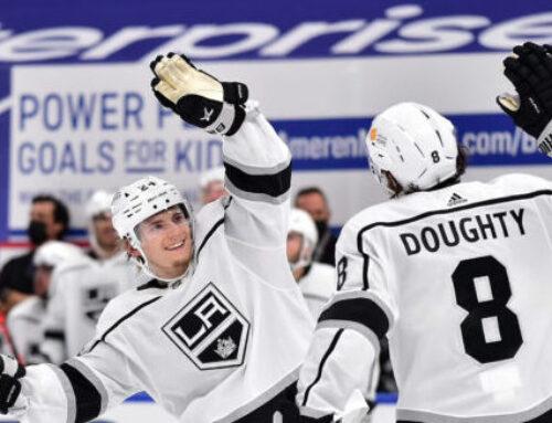 Lias Anderssons revansch – första NHL-målet på nästan två år