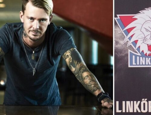 Realitystjärnan Joakim Lundell skänker en stor summa till Linköping Hockey