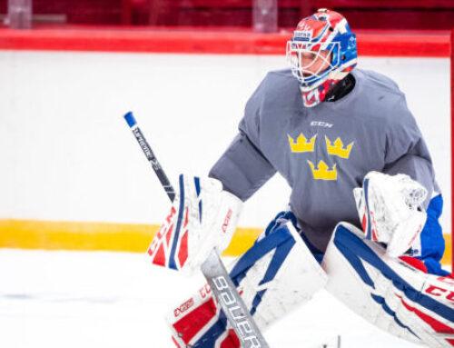 Johansson vann den svenska målvaktsmatchen i KHL-semifinalen – höll nollan