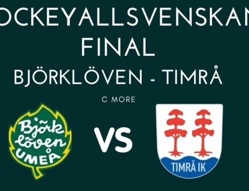 Hockeyallsvenskan; Björklöven – Timrå: Final 4, fördel Timrå i finalserien