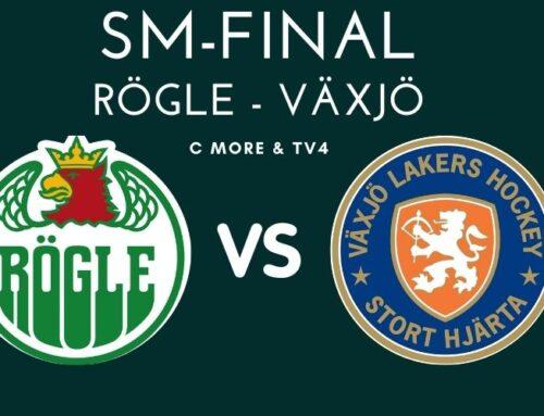 SM-final 4; Rögle mot Växjö – Rögle har reducerat finalserien