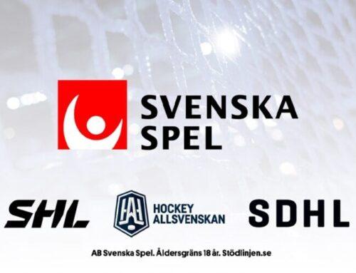 Svenska Spel blir ny huvudsponsor för SHL, SDHL och Hockeyallsvenskan