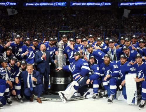 Tampa Bay Lightning vinnare av Stanley Cup 2021 – för andra året i rad